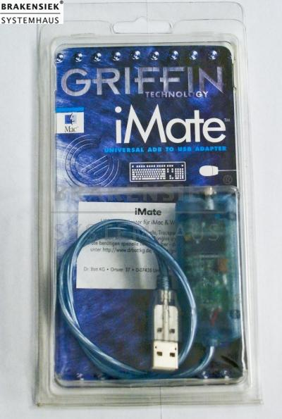 Griffin iMate ADB to USB Adapter for Mac a. PC | for sale, used, on ...