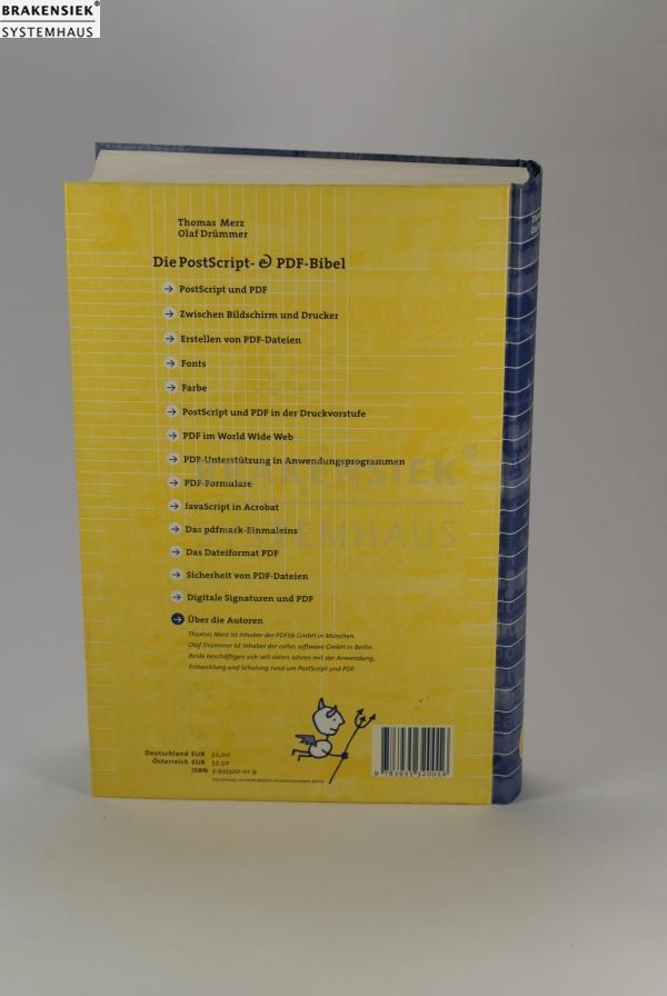 Die PostScript- & PDF-Bibel [Gebundene Ausgabe] | for sale, used, on ...