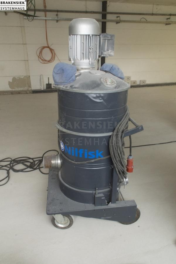 Nilfisk GB 1033 Industrial Vacuum Cleaner, central Dust Collection ...